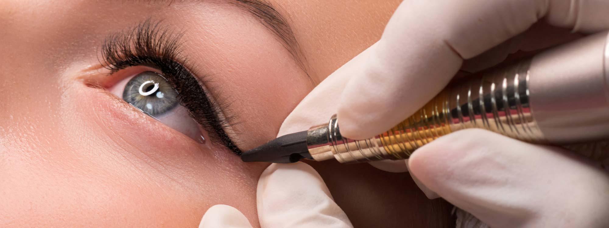 Lidstrich Permanent Make-Up