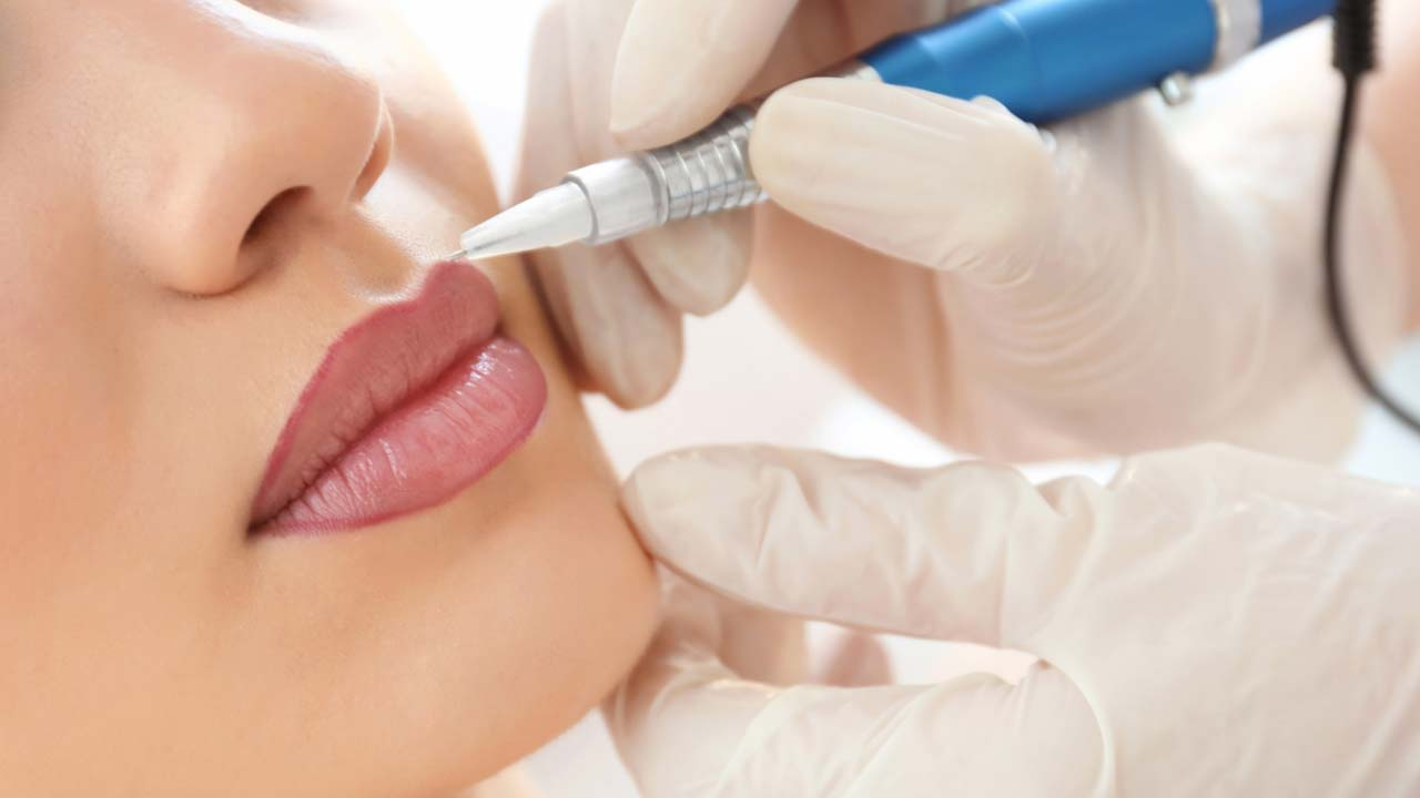 Lippen Permanent Make-up Hannover